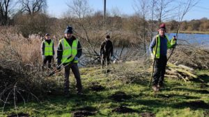 Flempton Bridge Brash and Tree Clearing-January 18th 2020